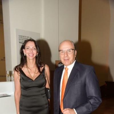 Inés Temple y Dennis Ferguson