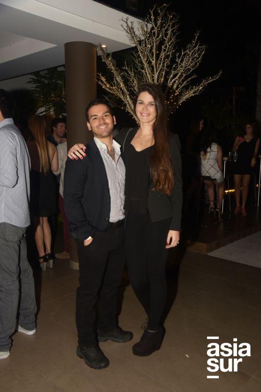 Juan Carlos Sumar y Nicole Balarín.