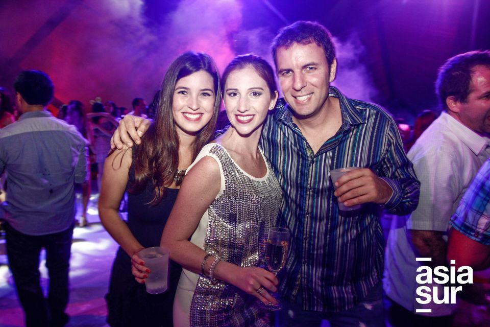 Alejandra Carvallo, Lorena Cabrera,  y Polo Ripamonti