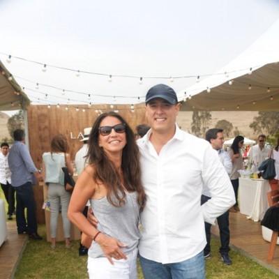 Mariana Lamouret y Jorge Velaochaga