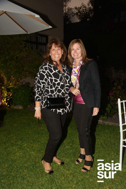 Marisol Ayulo y Micaela Palomino