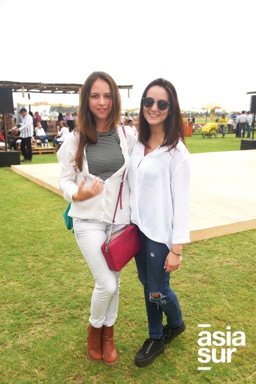 Micaela Rodríguez y  Camila Bertini.