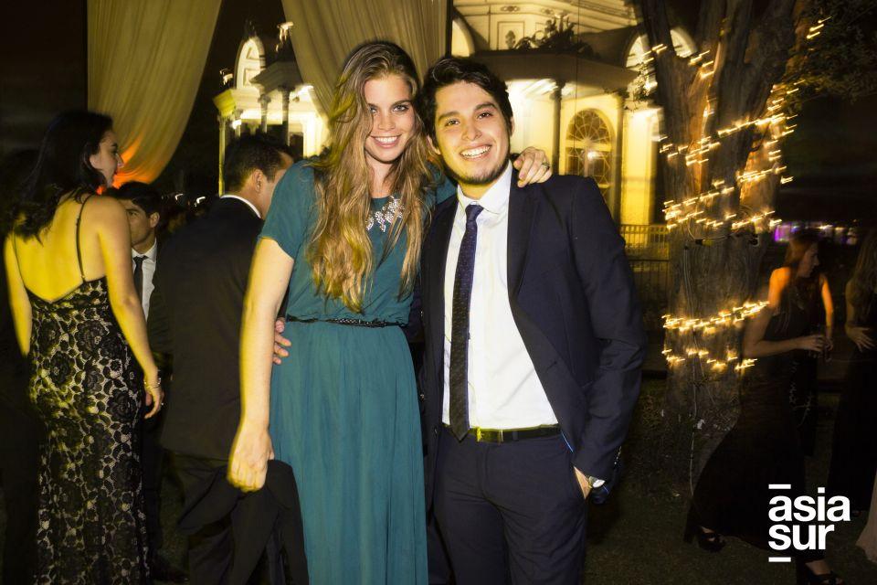 Michelle Woyke y Santiago Robles