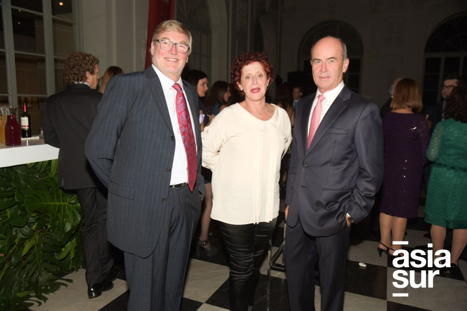 Nicolas Keskemethy, Mariela Agois y Alfonso Barreda