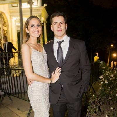 Nicole Dongo y Diego Gutiérrez