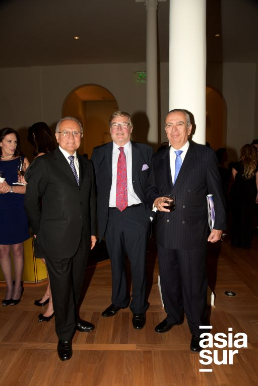Oswaldo Sandoval, Nicolas Keskemethy y Jose Ramon Mariátegui