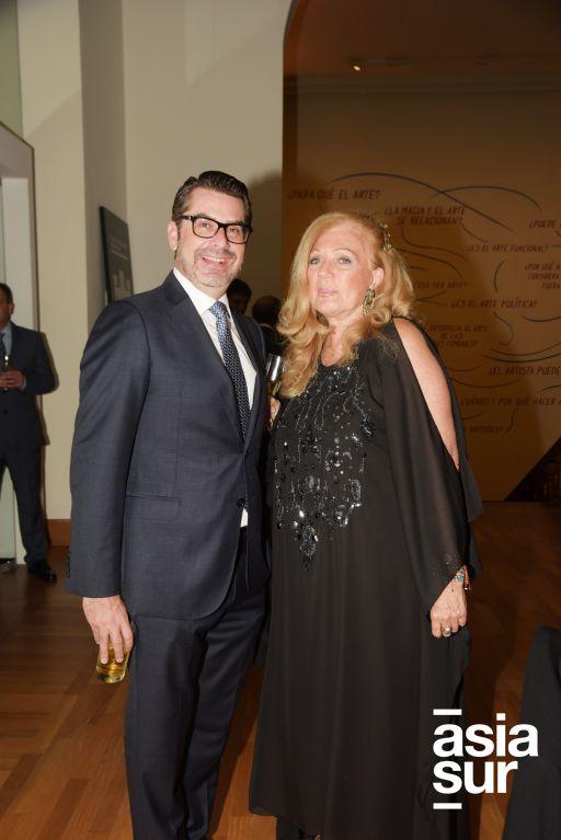 Petrus Fernandini y Jeanette Revilla