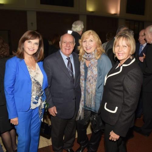 Pilar Deza, Ribgi Mite, Leyla Mitre y Diana Matellini