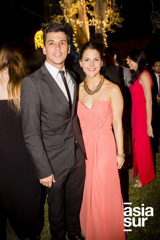 Rodrigo Bulos y Mariana Rey