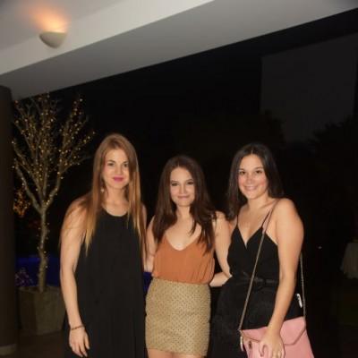 Stephanie Jabes, Alejandra Alta-Torre e Isabella Barba