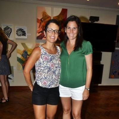 Alejandra Valdez y Carolina Darvasi.