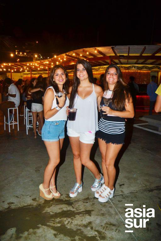 Alessandra Angulo , Ariana Angeles y Lusiane Wetzell.