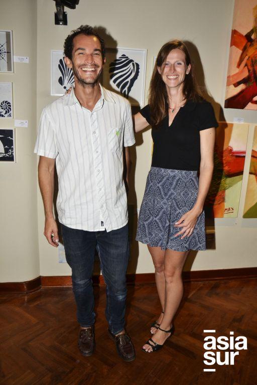 Alexander Schroth y Mylene Jansen.