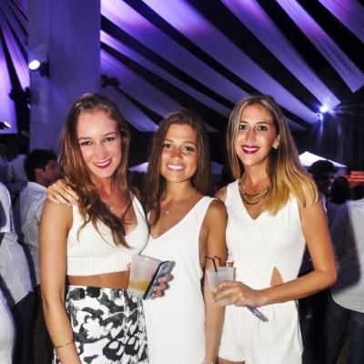 Andrea Fabbri, Luciana Cassinelli y María Gracia Espinoza.