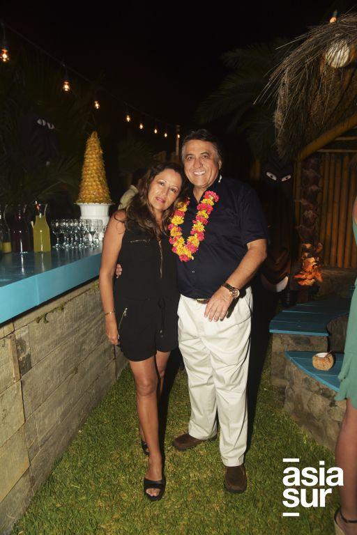 Marisa Panez y Virgilio Castro.