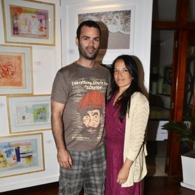 Claudio Fernandini e Ingrid Merath.