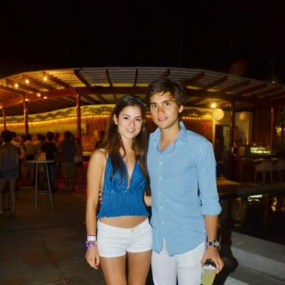 Francesca Calda y Alessio Nicolini.