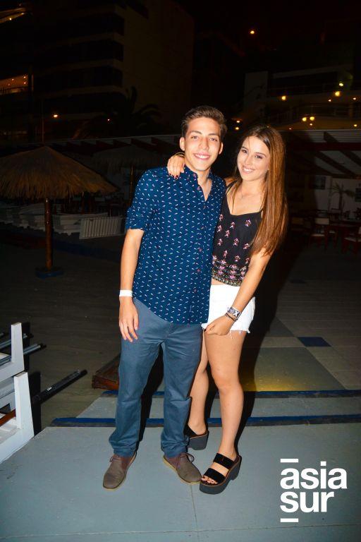 Gabriel Winter y Ariela Ar.
