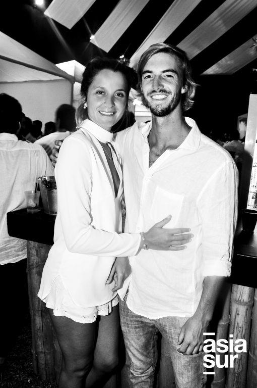 Gabriela Barata y Marcelo Cilloniz.