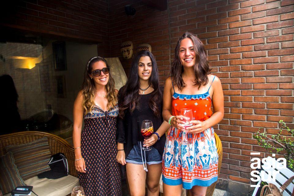 Andrea Mazzetti, Lorena Angulo y Francisca Razeto.
