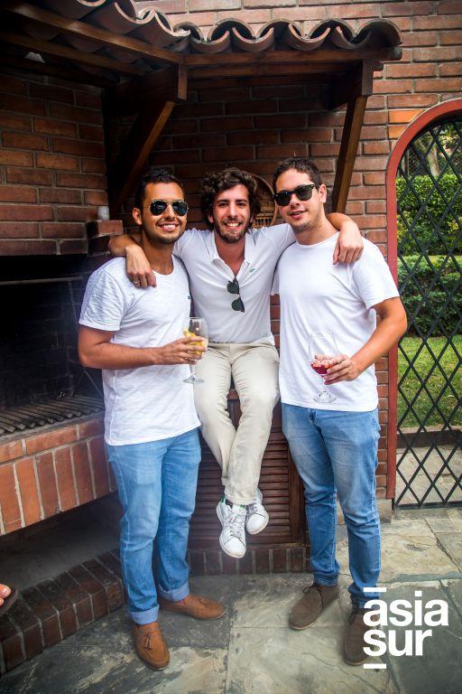 Alejandro Melly, Giancarlo Vassallo y José Ignacio Adrianzén.