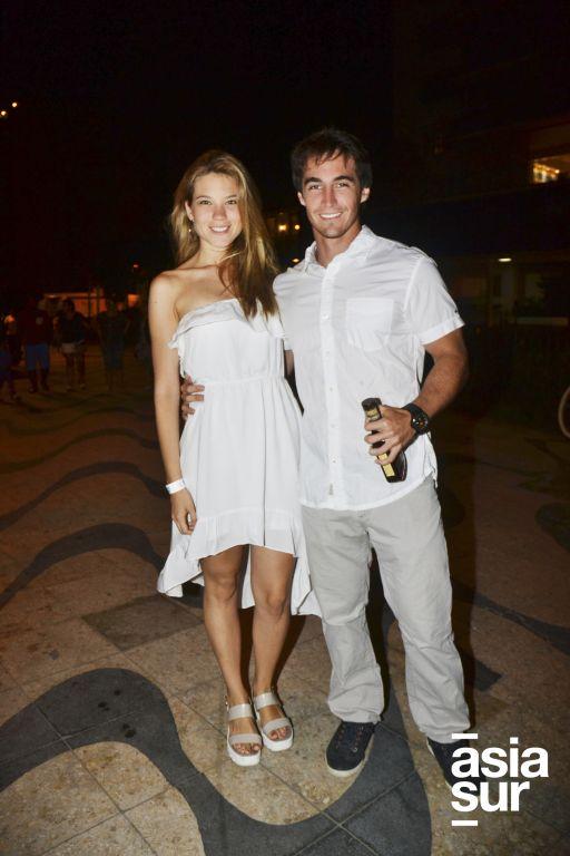Jessica Aramayo y Juan Diego Calvo Perez.