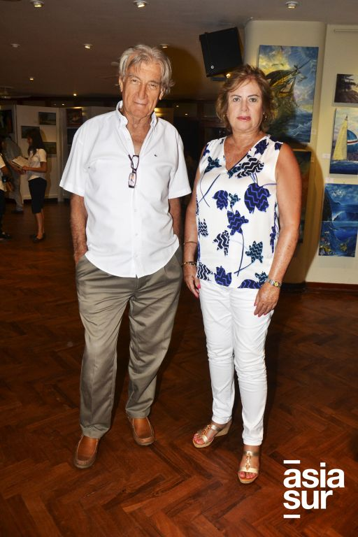 Jorge Rodríguez y Liliana Arboccó.
