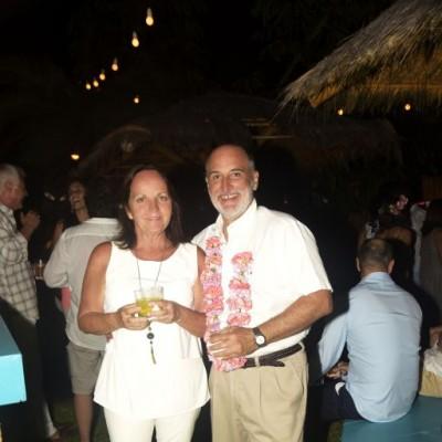 Karina e Ivan Pestana.