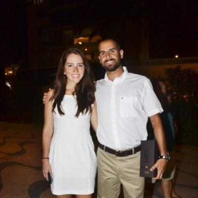 Katerina Villacorta y Reynaldo Baldini.