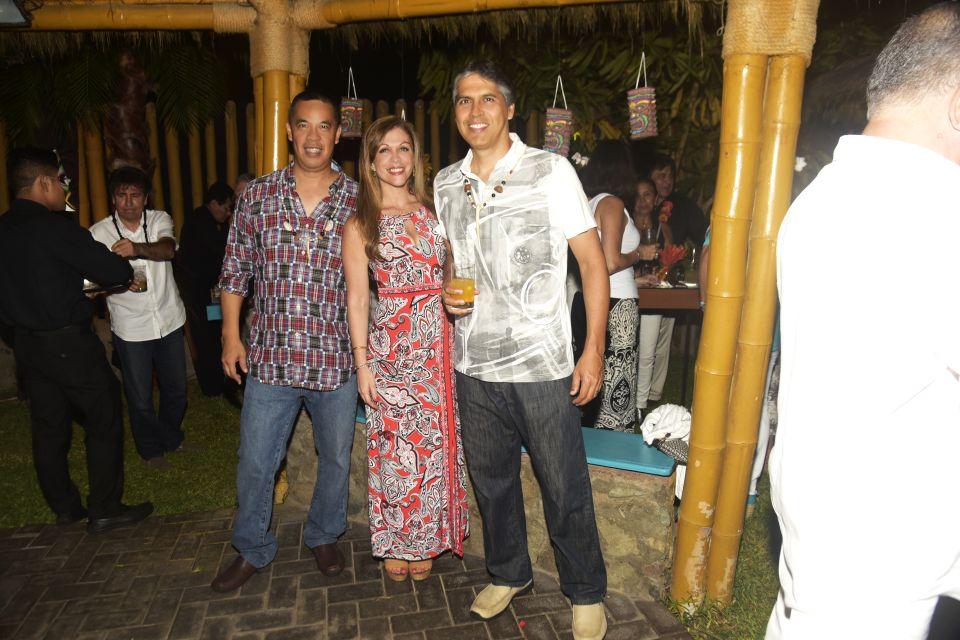 Aldo Siu, Andrea Reves y Luis Maraví.