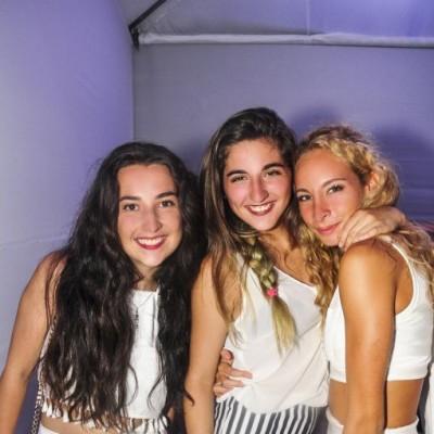 Luisa Enciso, Valeria Pezo y Carolina Bocian.