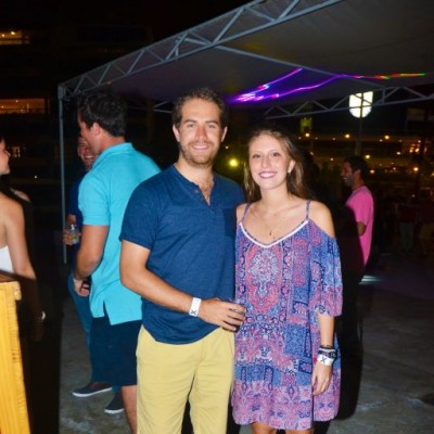 Martín Bustamante y Daniela Picardo.