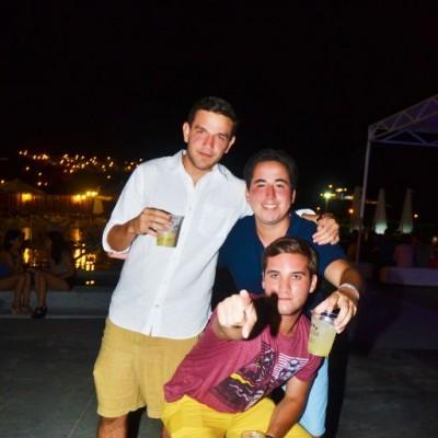 Mateo Cerro , Nicolás Mejía y Kael Zollner.