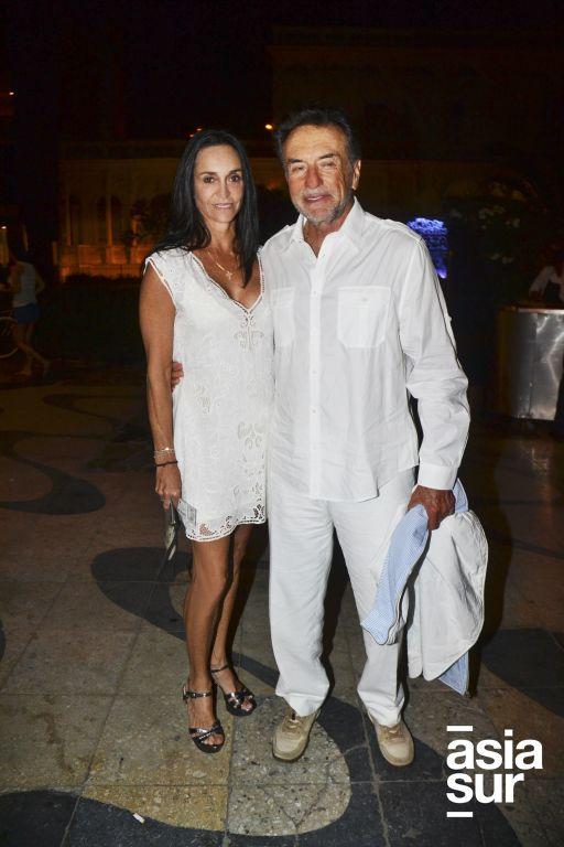 Mónica de Osma y Luis Felipe Raffo.