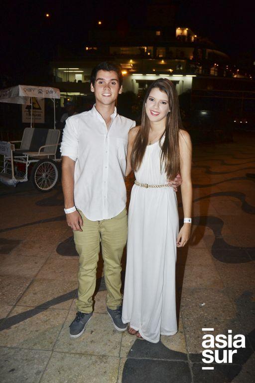 Nicolás Andrade y Diana Vargas.