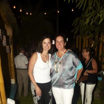 Rosemarie Pecar y Nony García.