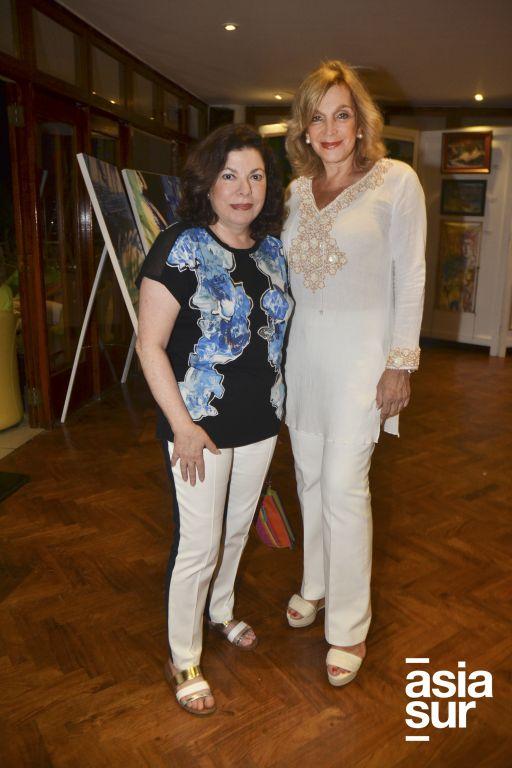 Rosi Schwartzman y Pepa Bertello.