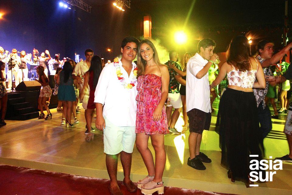 José Hurtado y Rafaella Gagliardo.