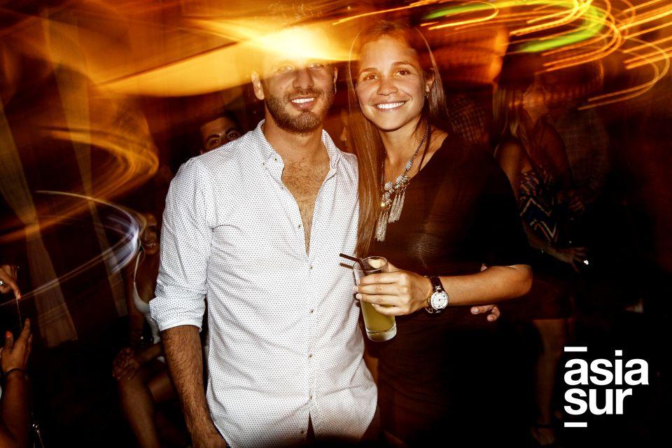 Bruno Zagal y Adriana Lucar.