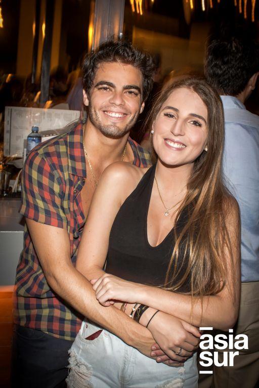 Paul Haftel y Daniela Atun.