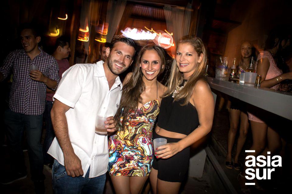 Sergio Catter, Claudia Mestanza y Mónica Fisher.