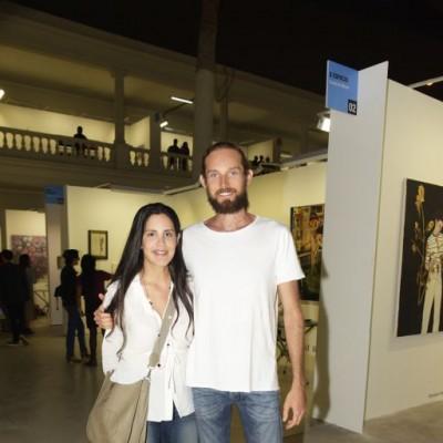 Adriana Araujo y Mateo Cabrera