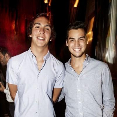 Alejandro Tapia y Antonio D'Angelo en Bazar, Miraflores.