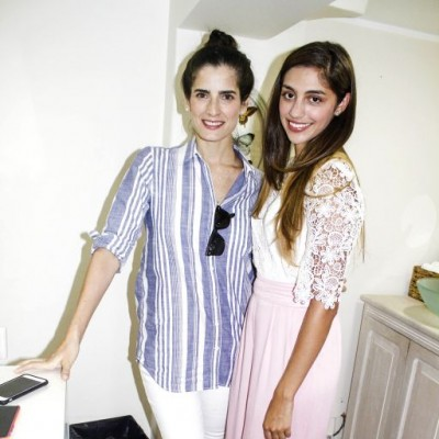 Antonia del Solar y Pamela Ramos.