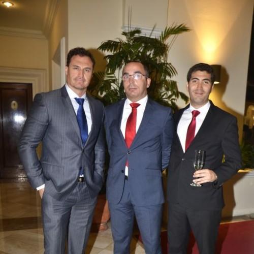 Carlos Galeote, Carlos Hugo Cano y Luis Miguel Salazar.