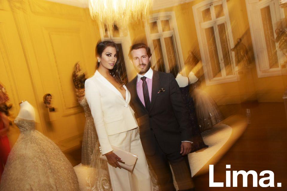 Lorena Larriviere y Javier Millership en Italian Galmour, Barranco.
