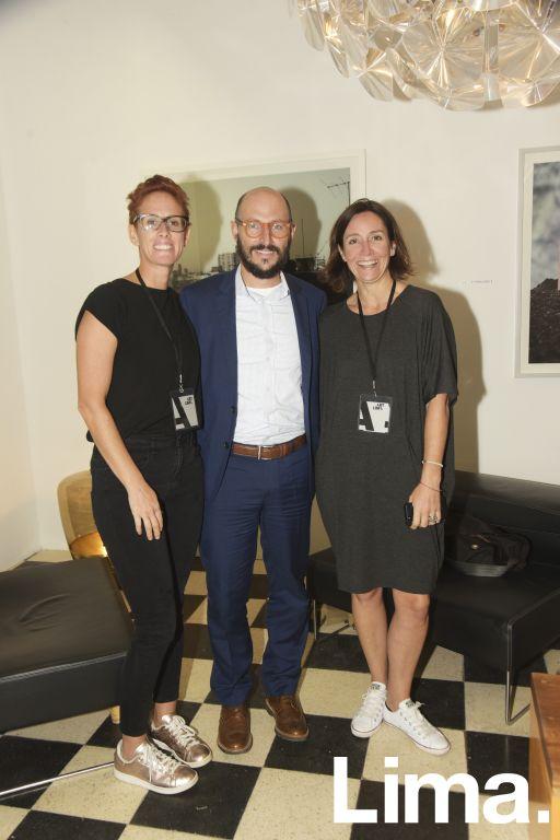 Mafe García, Aldo Ferrini y Rocío Gómez.
