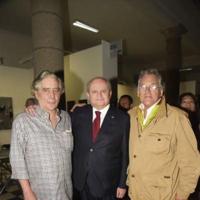 Jose Tola, Pedro Cateriano y Armando Andrade.