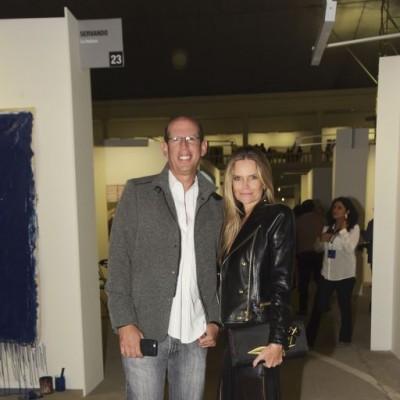 Luis Salverredy y Jennifer Houghton.