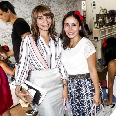 Desirée Sánchez y Vanessa Rolando.